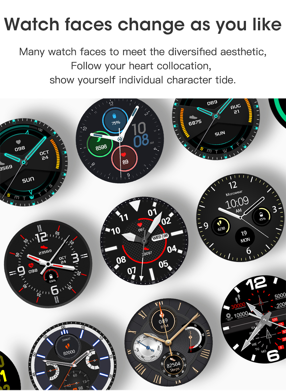 H358e4d334dc743f7bc8f91f414534f68Q Timewolf Smart Watch Men 2021 IP68 Waterproof Android Full Touch Sports Smartwatch Bluetooth Call For Samsung Huawei Android IOS