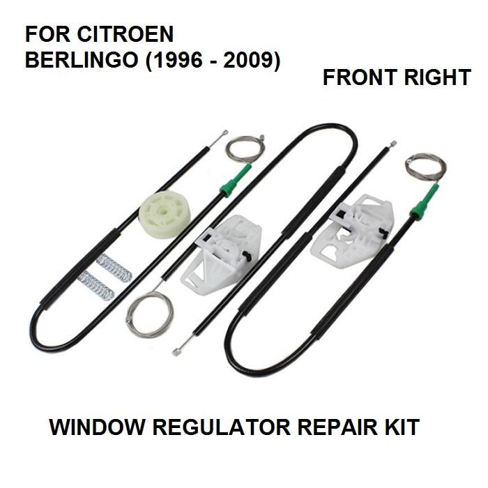 Peugeot Partner 96-08 Front Right Window Regulator Electric* Citroen Berlingo