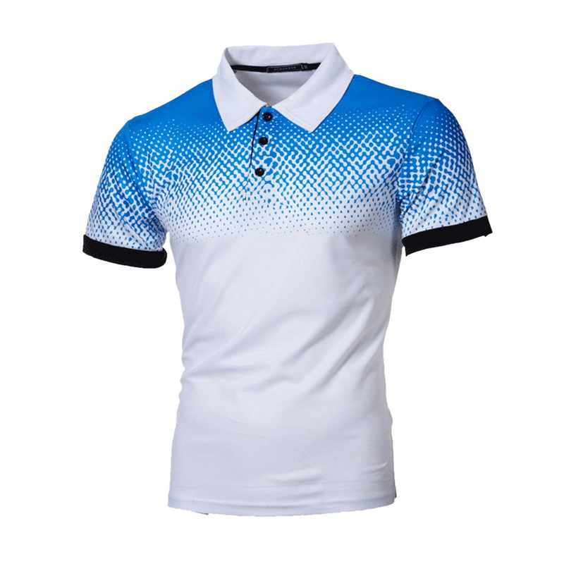 Shujin Mens Polo Shirt Zomer Korte Mouw Turn-Over Kraag Slim Tee Tops Casual Ademend Effen Kleur Business Sweatshirts
