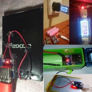 Image 5 - Zabezpieczenie modułu baterii litowej ładowarka litowo jonowa 134N3P konwerter zasilania regularne napięcie 5V 1A płytka ładująca Micro USB