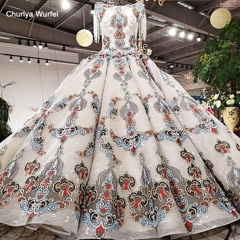 LS38841 hand working beaded color flowers party   dress   cap sleeve tulle back side straps   dress   for formal party real as pictures