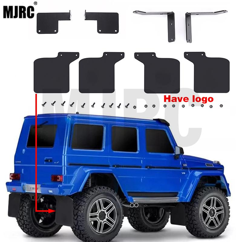 Rubber Mudguard Mud Fender For 1/10 TRAXXAS TRX-4  G500 RC Car Upgraded Parts With Benz Logo