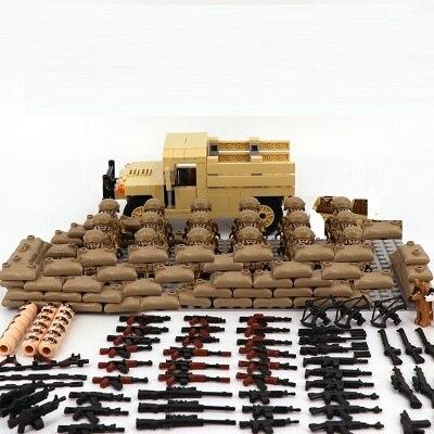 18 шт./лот солдат спецназа США MOC пистолет SWAT оружие Мини Playmobil военные строительные блоки фигурки совместимые оригинальные игрушки