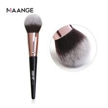 Maaneg 1pc pó macio grande blush fundação senhora maquiagem escova cosméticos ferramenta compõem cosméticos grande única escova facial