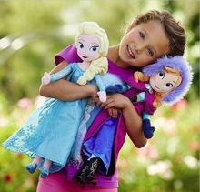 Disney плюшевые игрушки и куклы из мультфильма «Холодное сердце»