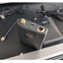Leicozic QLX 24D QLXD4 QLXD24 Bodypack ไมโครโฟนไร้สายระบบ626 668Mhz/780 820Mhz ชุดหูฟัง Lavalier mic