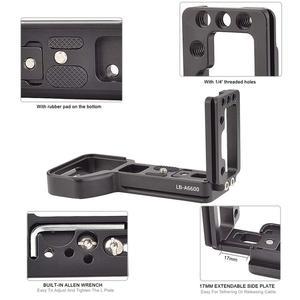 Image 4 - Soporte de placa L de liberación rápida soporte de trípode de mano para cámara Sony Alpha A6600