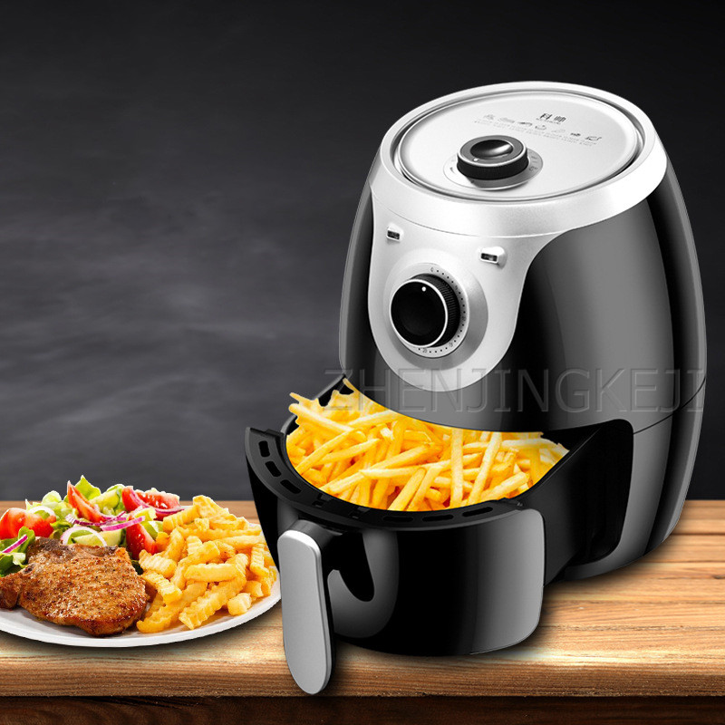 Air Fryer Home Intelligent Without Oil Smoke French Fries Machine Commercial Multicooker Electric Fryer Airfryer For Kitchen