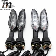Rear LED Turn Signal Indicator Light For KAWASAKI NINJA 1000 650R 650 400 300 ZX-6R ZX-10R Motorcycle Accessories Blinker Lamp недорого
