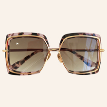 Square Sunglasses Designer Mirror Female Women Fashion-Brand for with Brand-Box New