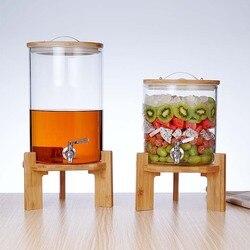 Obst Gärung Barrel Hoch-temperatur Beständig Gärung Barrel Funkelnden Wein Glas Flasche Gefüllte Trauben Wein Flasche F