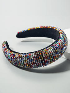 SHeadband Hoop Beaded...