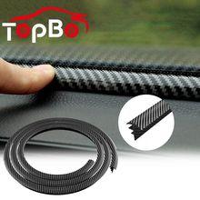 Interior-Accessories Sealing-Strip Dashboard-Edges Rubber Noise-Insulation Auto Car Car-Carbon-Fiber