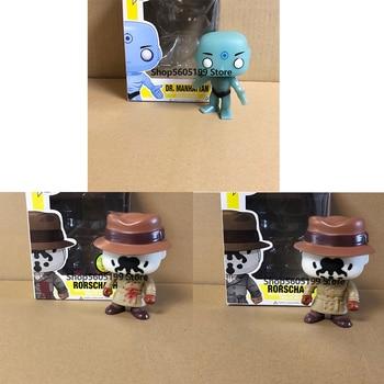 WATCHMEN RORSCHACH DR.MANHATTAN POP with box Model Figure Collectible Model Toy for gift сумка printio хранители watchmen