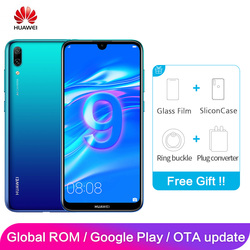 Huawei Enjoy 9 Y7 Pro Global rom 4 Гб 128 ГБ 6,26 дюйма Snapdragon 13MP 450 Восьмиядерный Android 8,1 смартфон 4000 мАч двойная карта