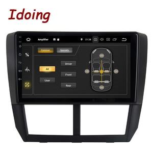 """Image 5 - Idoing 9 """"PX6 Auto Android 10 Radio Multimedia Speler Voor Subaru Forester 3 Sh 2007 2013 4G + 64G Gps Navigatie 2.5D Geen 2 Din Dvd"""