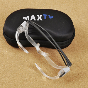Image 5 - Acrylic Glasses Folding Magnifier Diopter+3 Optical Prism Fashion Portable Eyewear
