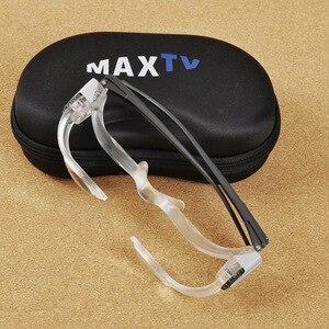 Image 5 - Bicchieri in acrilico Pieghevole Lente di Ingrandimento Diottrie + 3 Prisma Ottico Portatile di Modo Occhiali