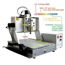 DIY CNC wood Router ER11 Engraving Machine CNC3040 VFD1.5KW USB 4axis