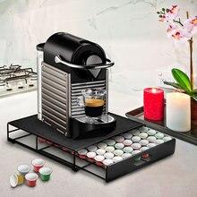 Нержавеющая сталь 36 чашки для капсулы кофе nespresso стручки Держатель для хранения стойки ящики кофе капсулы полки