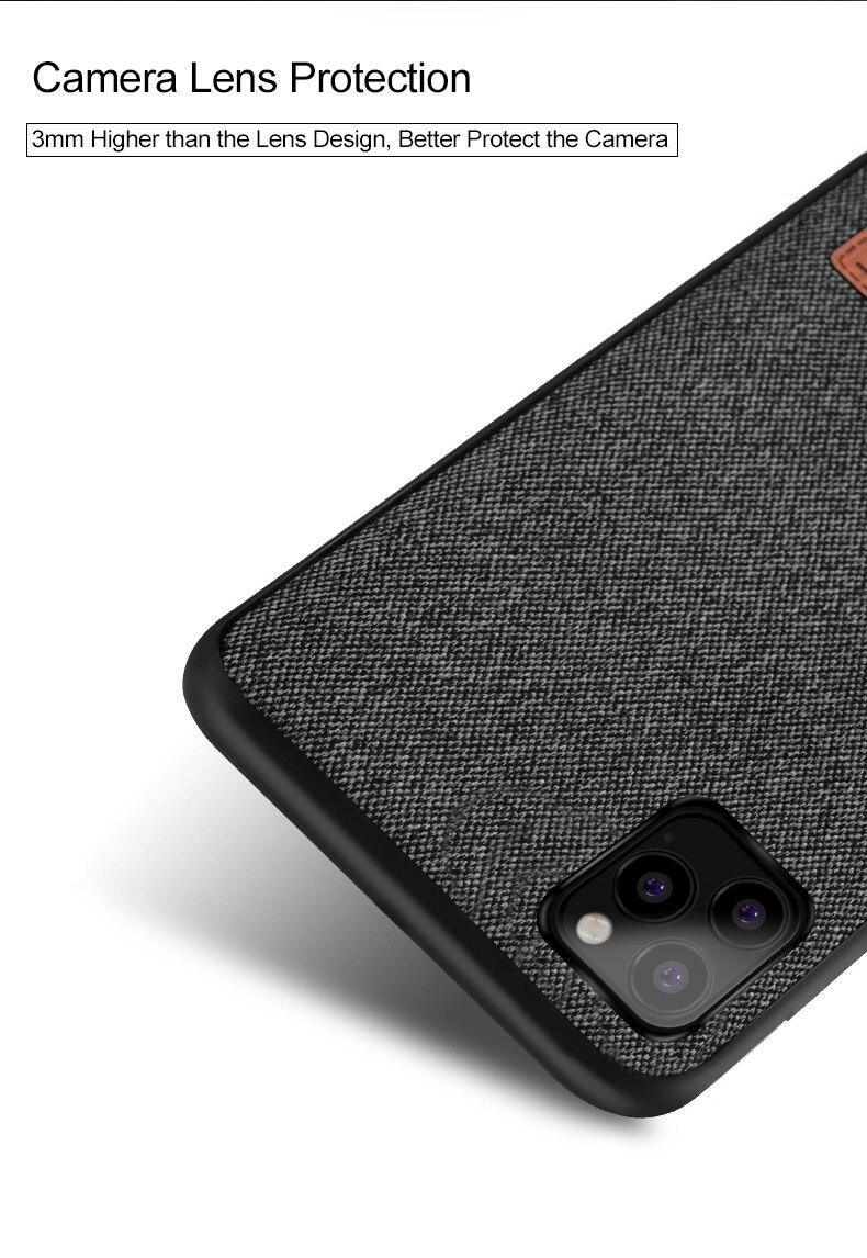 MOFi Fabric Case for iPhone 11/11 Pro/11 Pro Max 8