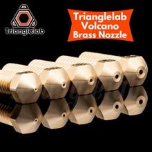 Trianglelab T הר געש נחיר 1.75MM גדול זרימה גבוהה באיכות מותאם אישית מודלים עבור 3D מדפסות hotend עבור E3D הר געש hotend j head