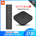 Original Globale Xiaomi Mi TV Box S 4K HDR Android TV 8,1 Ultra HD 2G 8G WIFI google Cast Netflix IPTV Set top Box 4 Media Player
