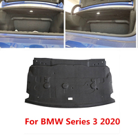 For BMW Series 3 2020 Trunk Sound Heat Insulation Cotton Car Trunk Firewall Mat Pad Cover Shockproof Sound Proofing Deadening
