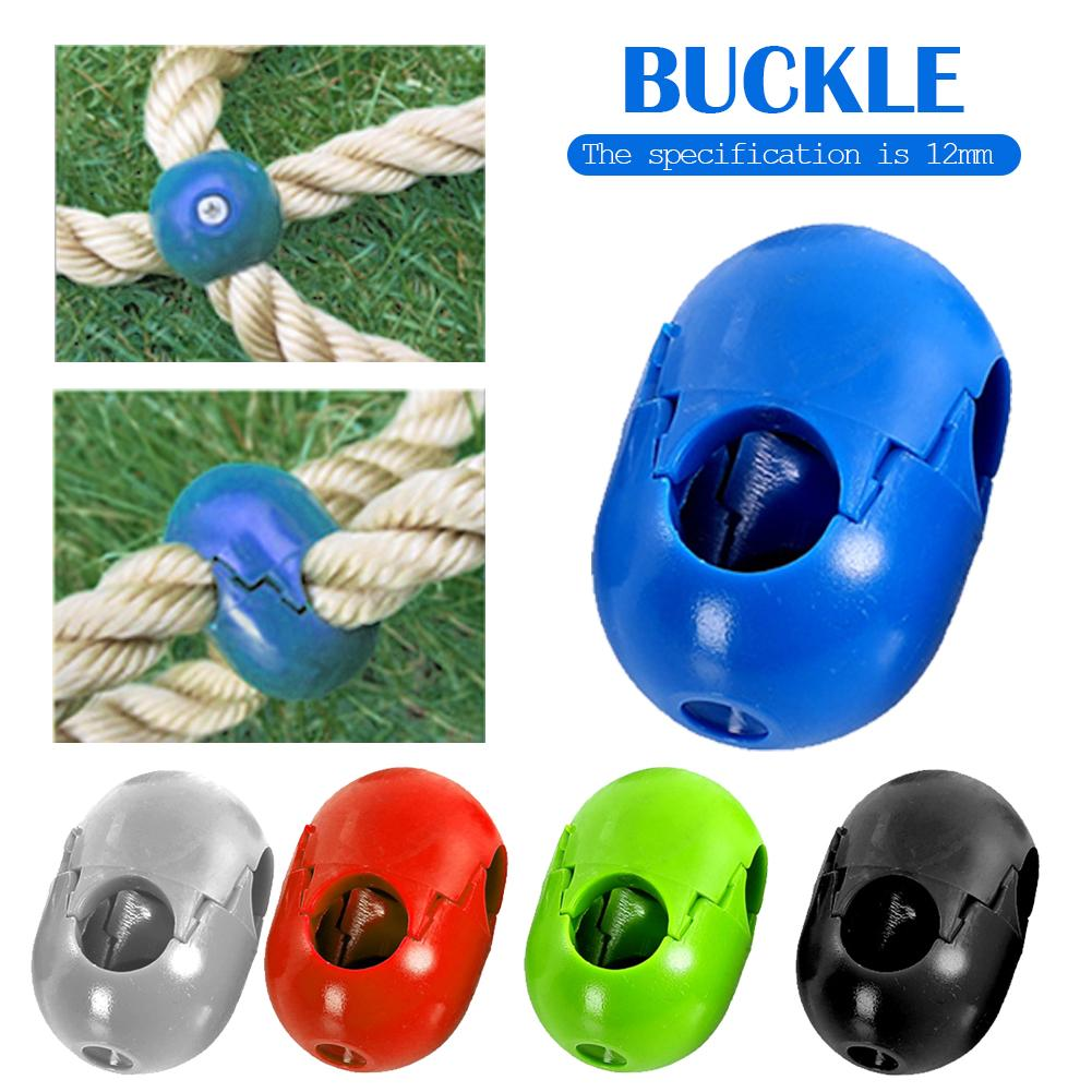 5Pcs Climbing Rope Net Plastic Connector Climbing Accessories For Outdoor Amusement Swing Climbing Rope Parts High Quality