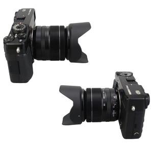Image 4 - Flower Lens Hood for Fujifilm X T30 X T20 X T10 X T3 X T2 X T1 X E3 X E2 X E1 with 18 55mm lens / FUJINON LENS XF 14mm F2.8 R