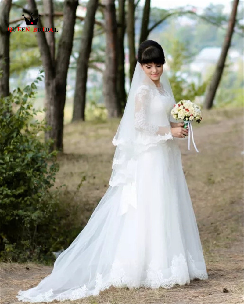 Custom Made Elegant 2 Layers Lace Short Wedding Veils With Comb White Ivory Bridal Veils BV14
