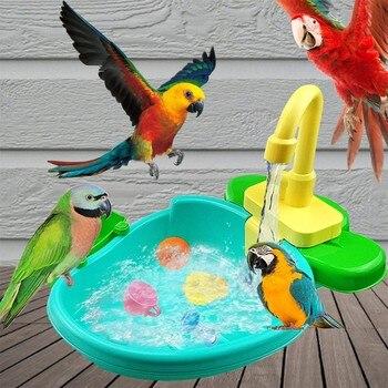 "Automatic Parrot Bathtub Swimming Pool ""Big Boy"" Parrot Supplies - Pets Alpha  1"