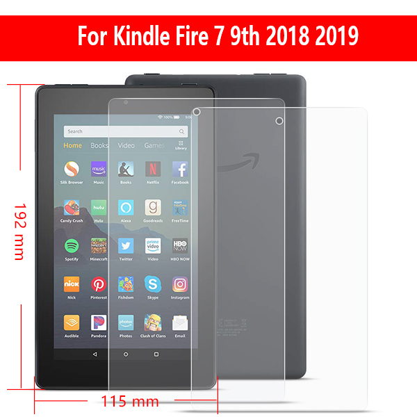 """2017 Gen 2 X Clear HD Screen Protector Guard Cover For Amazon Fire HD 8/"""" 2018"""