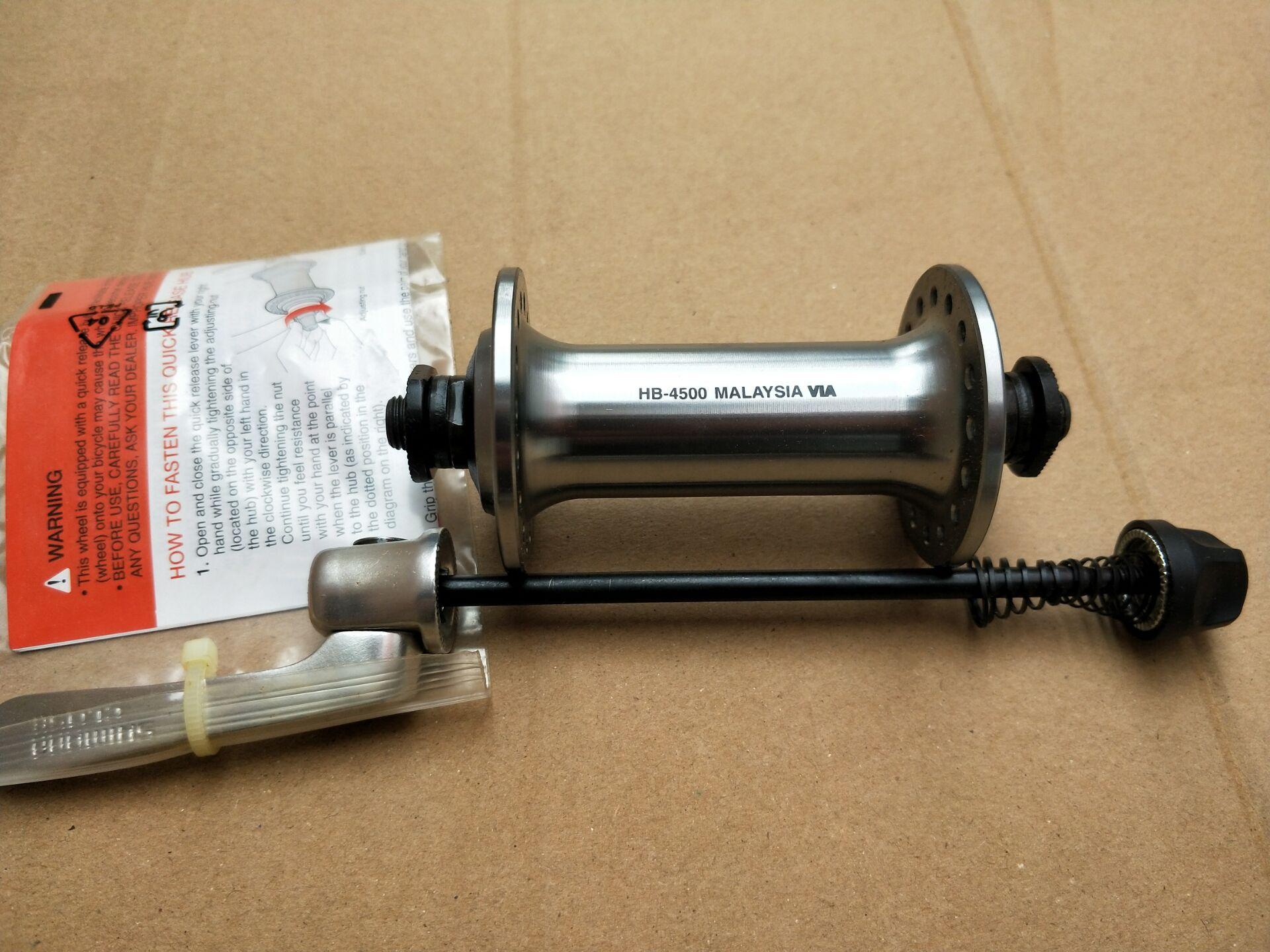 New Titanium 108mm QR Front Hub Axle replacement upgrade for Shimano Suntour