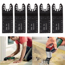 5Pcs/Set Universal Multitool Saw Blade Kit Precision Bi-metal Straight Nail Wood