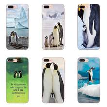 Indah Aksesoris Case untuk Galaxy A3 A5 A7 A8 A9 A9S On5 On7 Plus Pro Star 2015 2016 2017 2018 Membuat Penguin Anda(China)