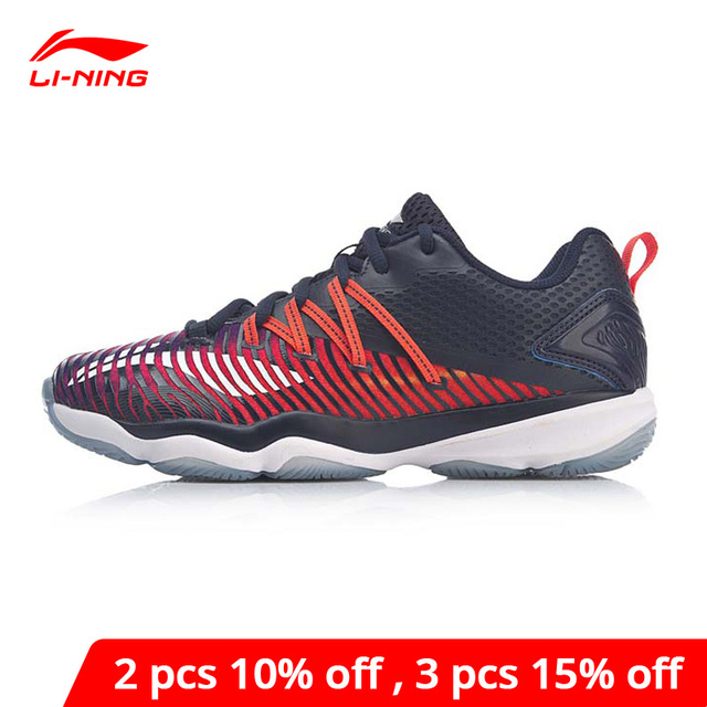 Li Ning Women RANGERTD Badminton Training Shoes Wearable Anti Slip LiNing li ning Stable Support Sport Shoes AYTP012 XYY114
