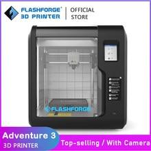 Flashforge DIY 3D Printer Kit Adventurer 3/Lite/3C with Camera Auto Leveling Machine Filament Detection Fast Cloud Printing