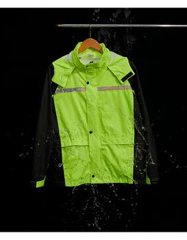 Męskie płaszcz przeciwdeszczowy spodnie wodoodporne odblaskowe motocyklowe płaszcz przeciwdeszczowy całe ciało nieprzepuszczalne Traje Lluvia Moto sprzęt przeciwdeszczowy BE50rc tanie i dobre opinie NoEnName_Null CN (pochodzenie) Odzież przeciwdeszczowa Raincoats Single-osoby przeciwdeszczowa NYLON Dorosłych Wspinaczka