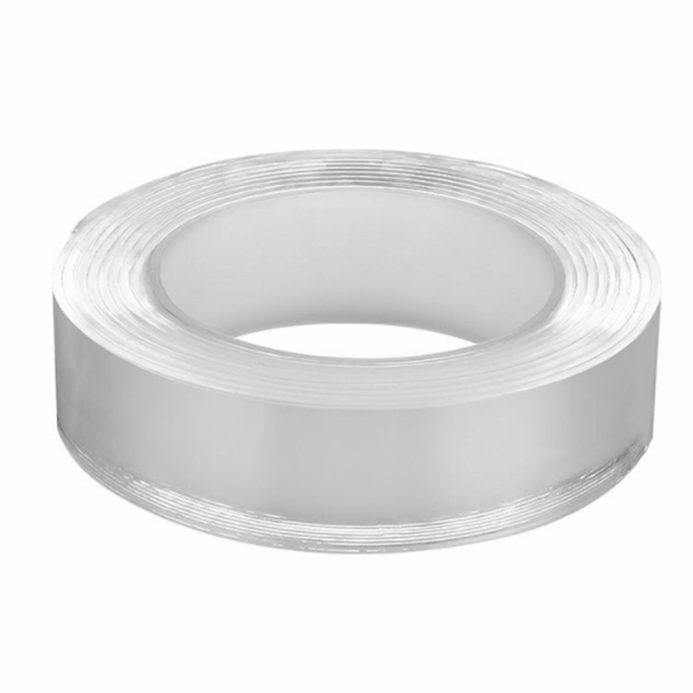 Thickened Nano Transparent Traceless Tape Waterproof Adhesive Tape Double-Sided Adhesive Anti-Collision Gel Tape