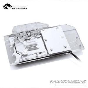 Image 3 - Bykski A SP5700XT X GPU Blocco di Raffreddamento Ad Acqua Per Sapphire RX 5700 XT di Impulso, MSI RX5700XT Mech/Evoke Dataland RX5700XT Diavolo Rosso