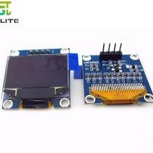 10pcs 0.96 inch IIC Serial Blue White OLED Display Module 128X64 I2C SSD1306 12864 LCD GND VCC SCL SDA 0.96