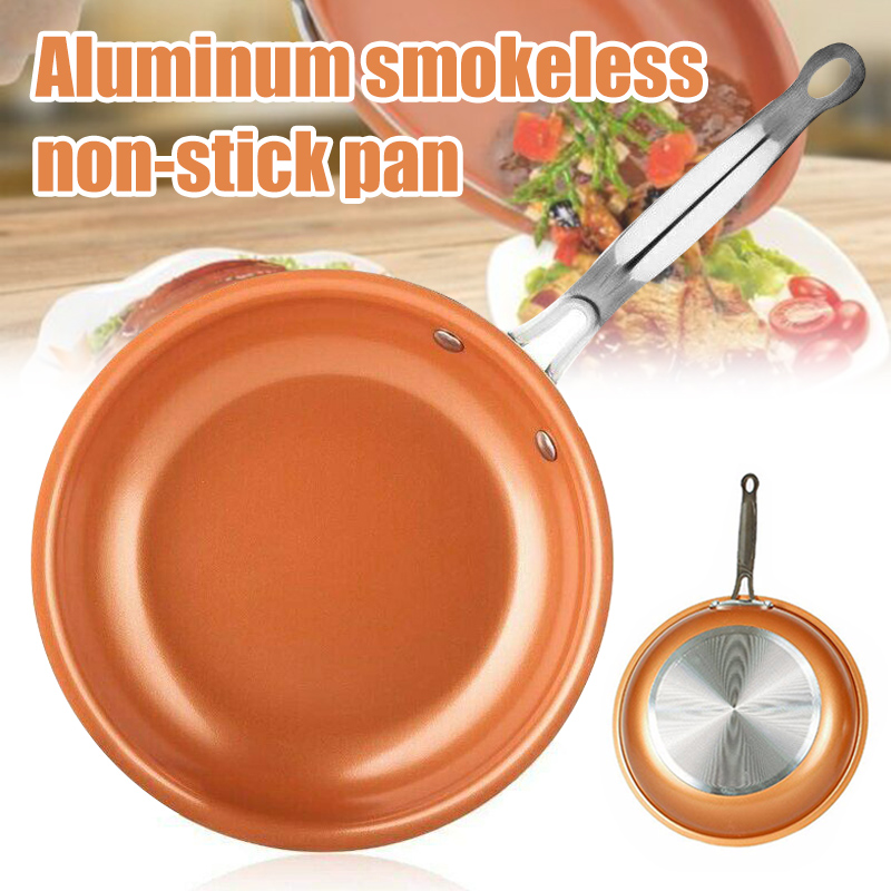 Aluminum Non Stick Frying Pan Hard-Anodized Cookware Omelette Fry Pan For Kitchen J99Store