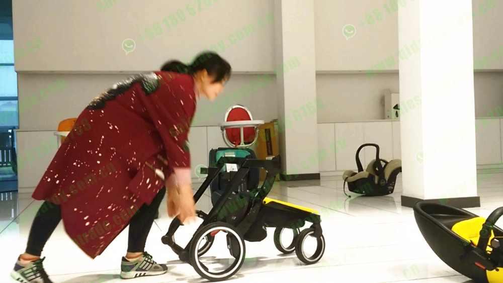 Finfin foofoo quente mom espaço andar céu trabalho alta paisagem carrinho de bebê