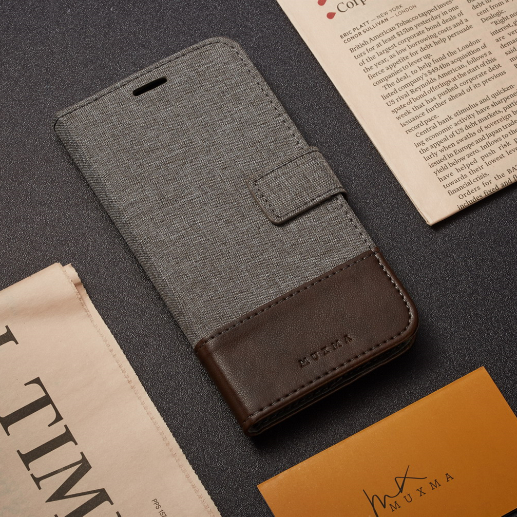 Magnet Leather <font><b>Case</b></font> For <font><b>Motorola</b></font> Moto G7 G5 G5S G4 Plus P40 Power Z3 Play X4 Flip Book <font><b>Case</b></font> on For Moto One Pro <font><b>Vision</b></font> Action M image