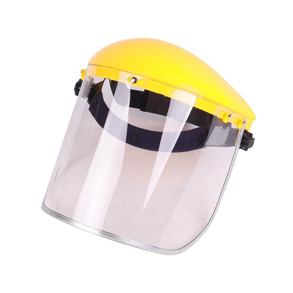 Safety Anti-Splash Face Shield Grinding Solder Weldor Head Protector Cap Cover Visor Shield Safety Isolation Protective Mask
