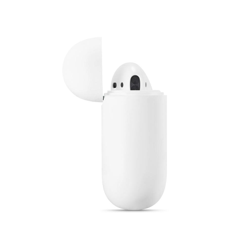 Szilikon tokok Airpodshoz 1 2 luxus védő fülhallgató burkolat - Hordozható audió és videó - Fénykép 3