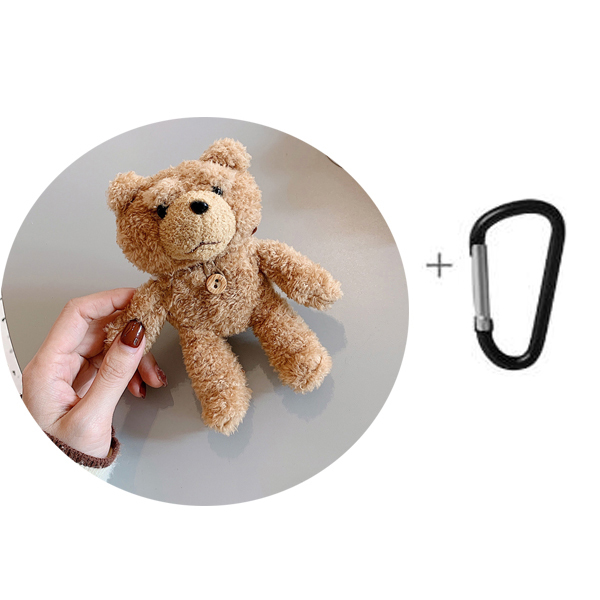 Kawaii Bear Carabiner Clip