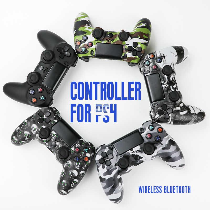 لوحة ألعاب لاسلكية للتحكم PS4 Joypad للتحكم PS4 التحكم عن ماندو اللاسلكية ماندو PS4 عصا التحكم بلوتوث Joistick