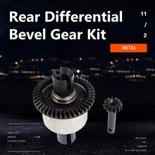 High Quality Rear Differential Bevel Gear Kit for ROVAN LT Losi 5ive-T RC Car parts Vehicles & Remote Control Toys Accessories 1 5 rc car metal middle complete diff gear set metal middle differential assembly fit rovan lt losi 5ive t toy parts
